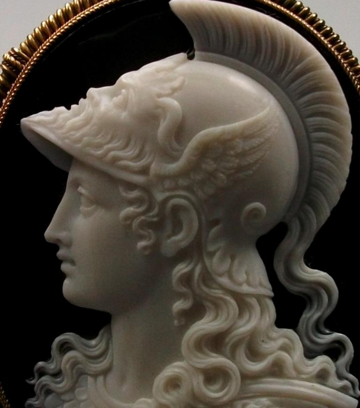 Cameo of Goddess Athena