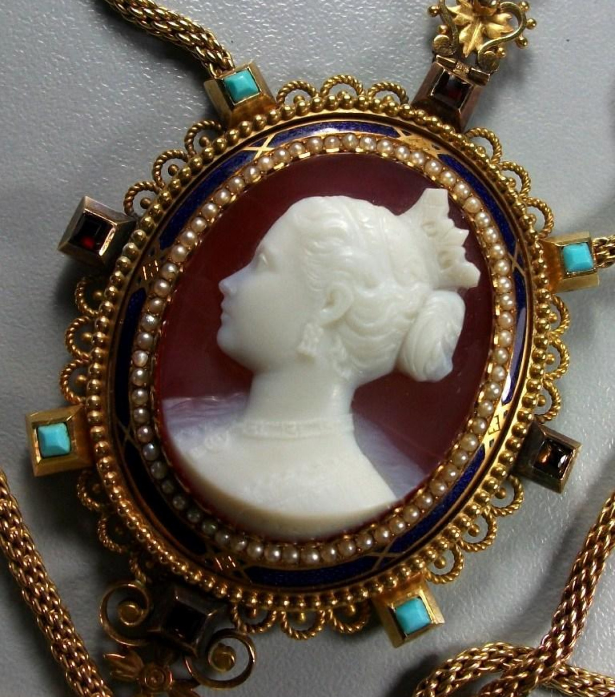 Cameo of Princess Victoria