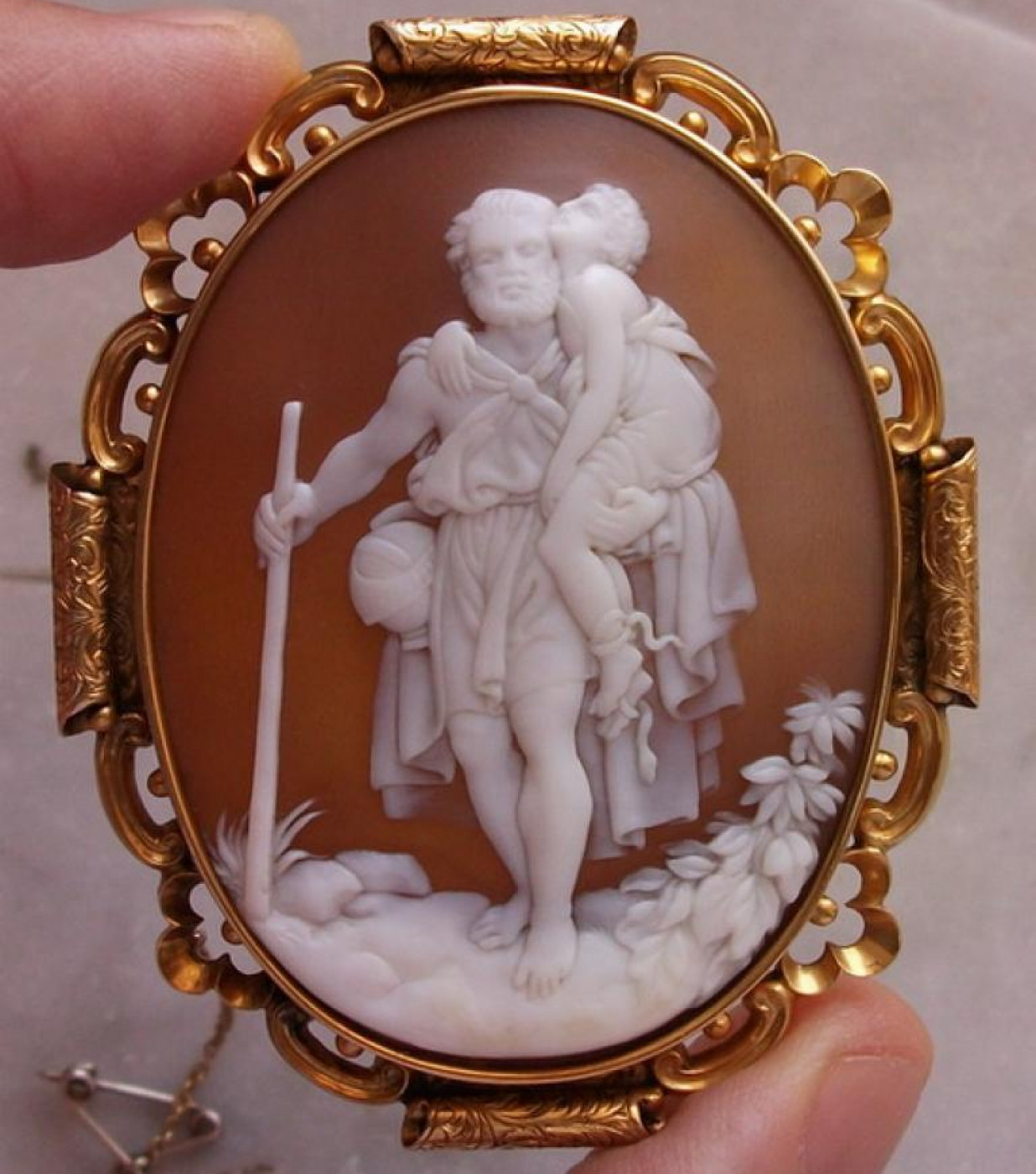 Rarest Cameo of St. Christopher