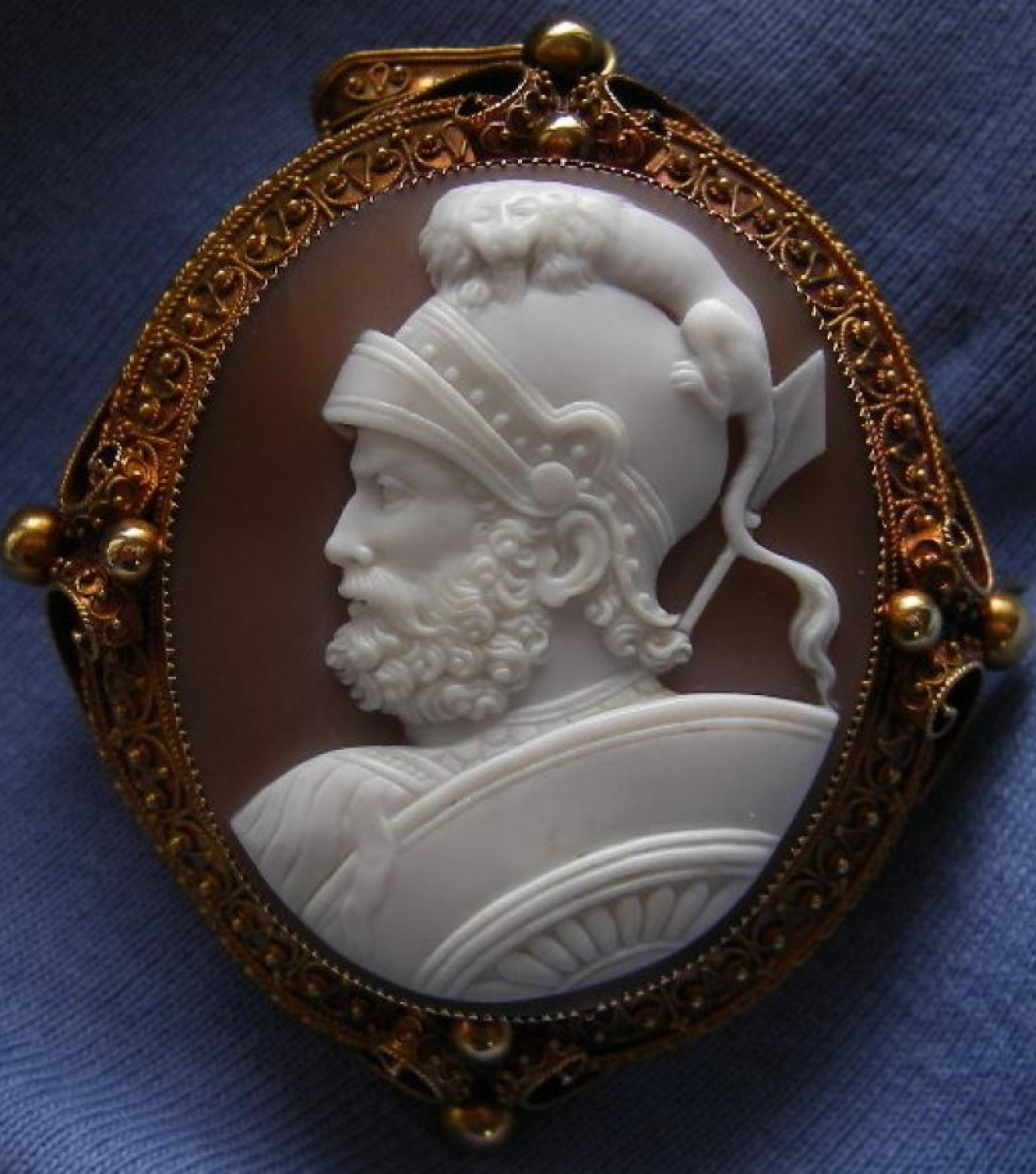 Magnificent Rare Cameo of God Mars