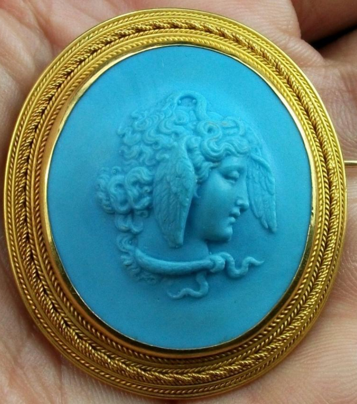 Rarest Cameo of  Medusa