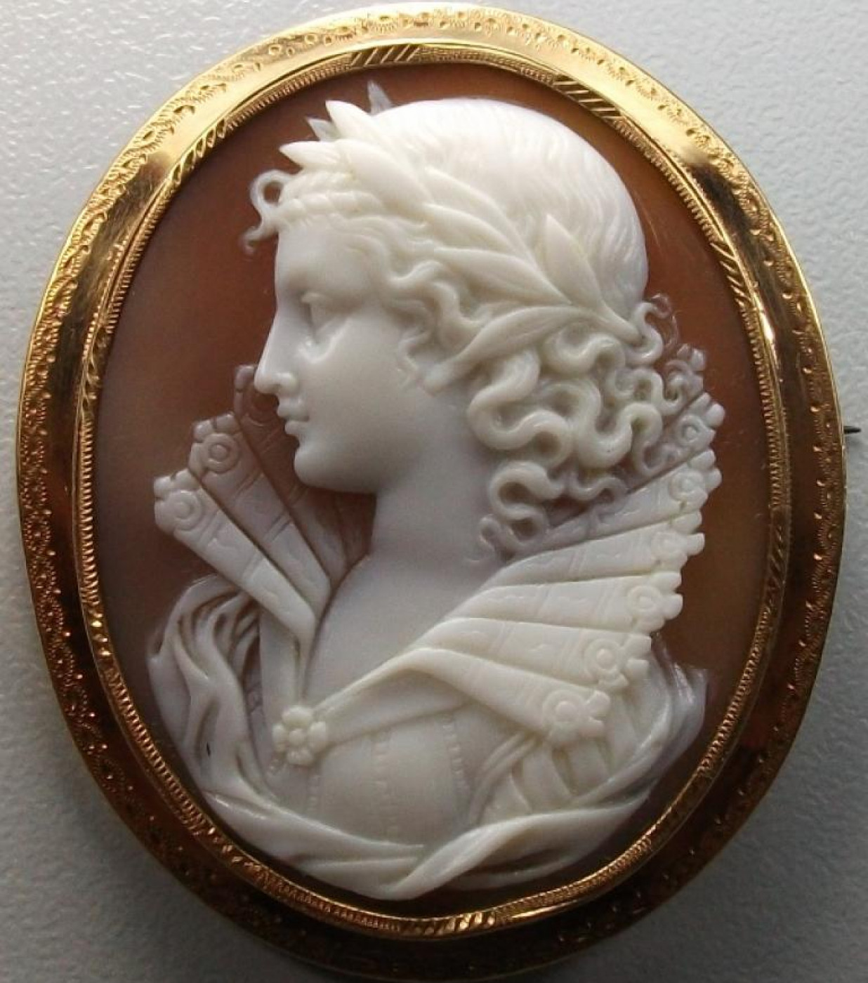 Cameo of Queen Elizabeth the 1st