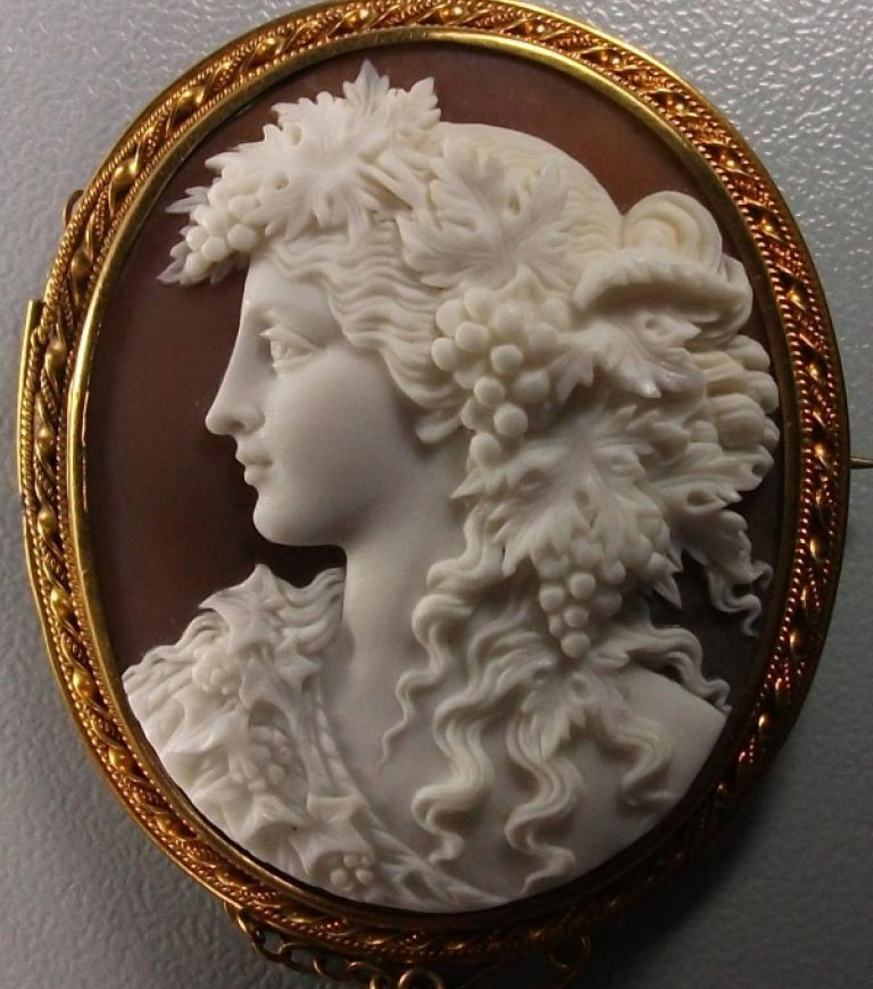 Wonderful Cameo of  a Bacchante